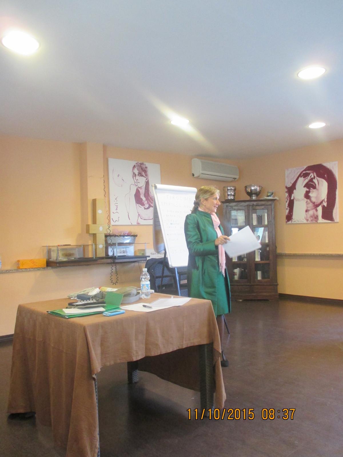 Corso formazione counseling strategico, svoltosi il 10 e 11 ottobre 2015