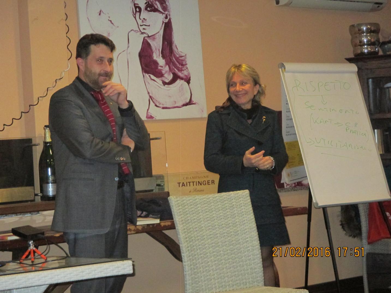 21/02/2016, IL PROF. PIETRO PONTREMOLI DOCET