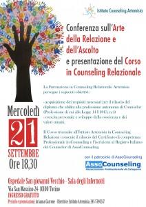 conferenza infernotti counseling artemisia