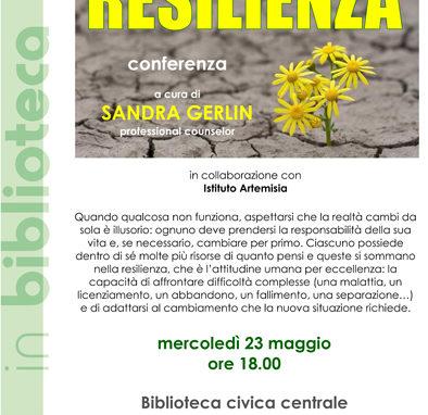 Resilienza - conferenza gratuita