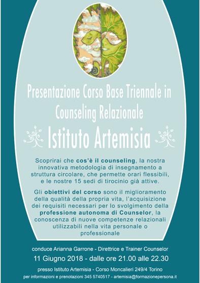 Presentazione corso base triennale in Counseling Relazionale