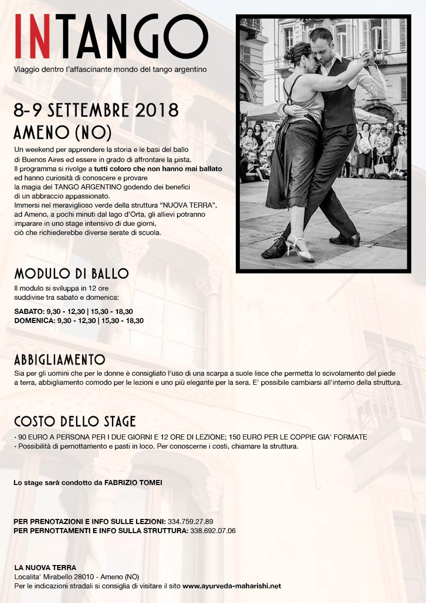 INTANGO - viaggio dentro l'affascinante mondo del tango argentino