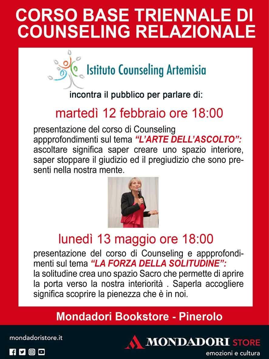 """Presentazione corso triennale in Counseling Relazionale e conferenza """"L'arte dell'ascolto"""""""