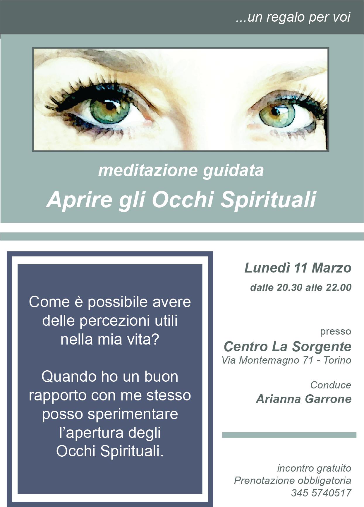 Meditazione guidata - incontro gratuito