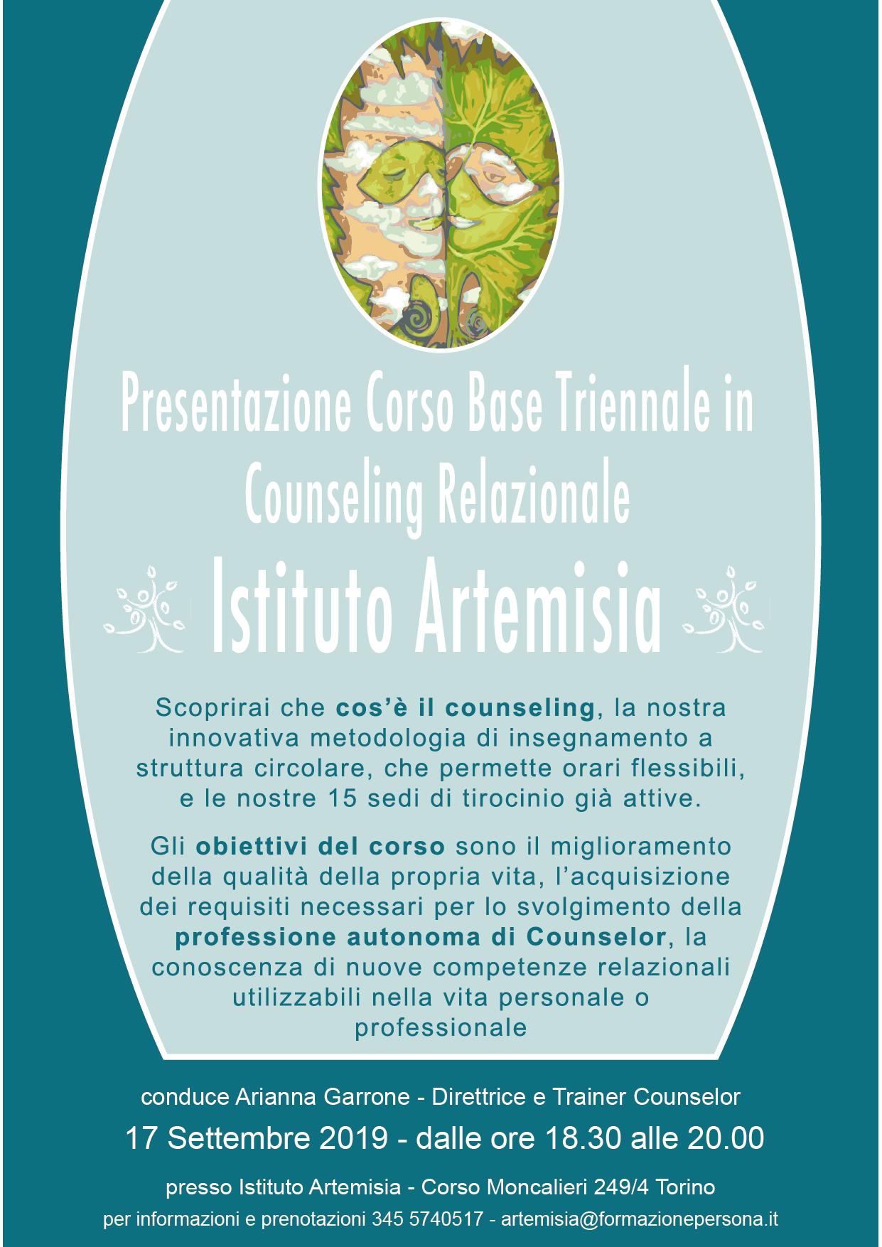 Presentazione Corso Base in Counseling Relazionale