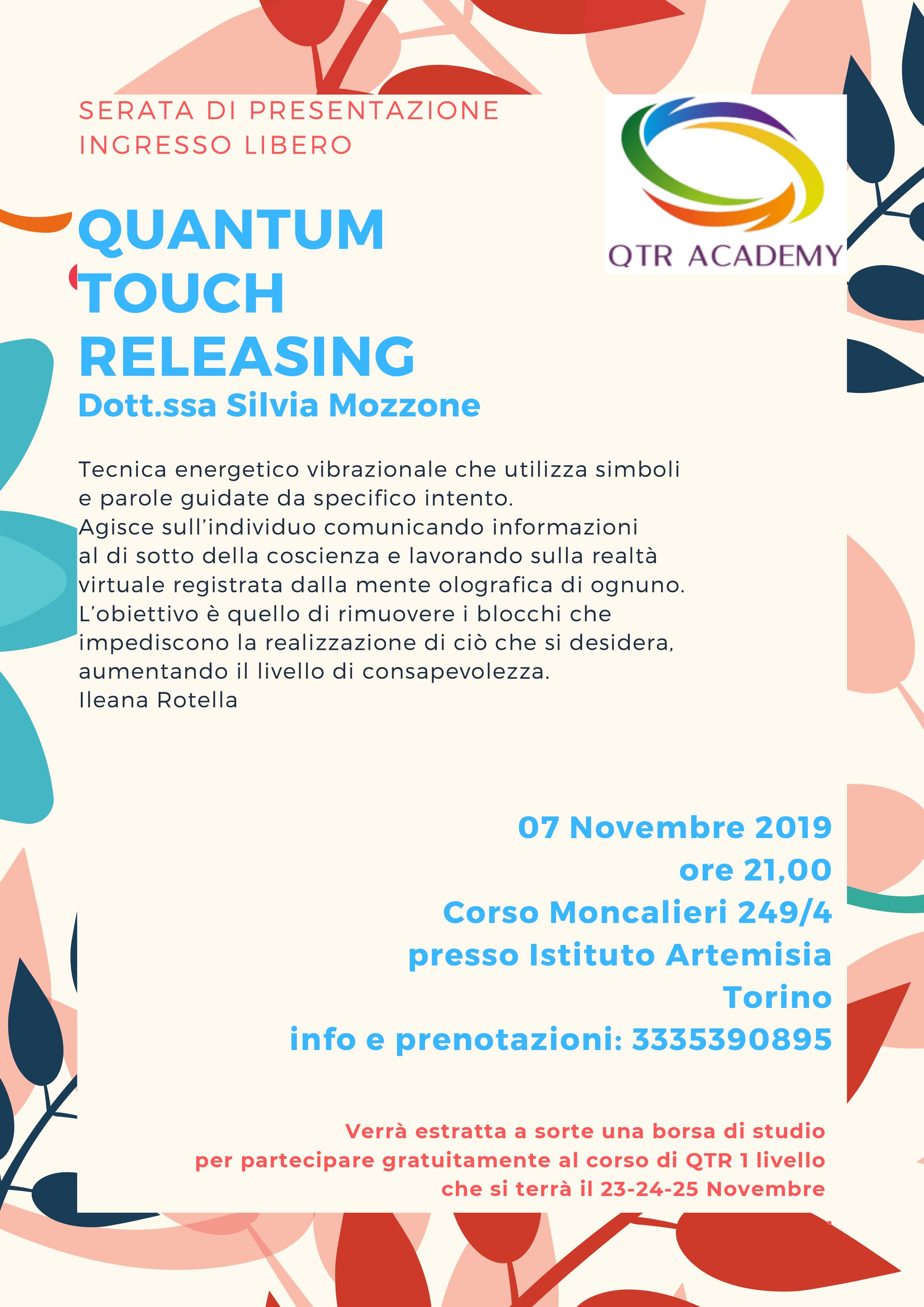 Quantum Touch Releasing - serata di presentazione